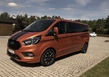 FORD TOURNEO CUSTOM SPORT Wersja long
